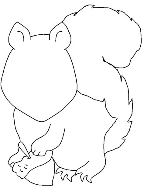 squirrel face coloring page 43 best images about squirrels on pinterest