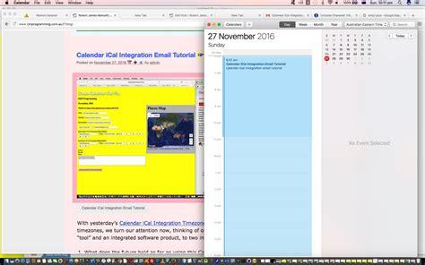 tutorial php calendar calendar ical integration itinerary tutorial robert