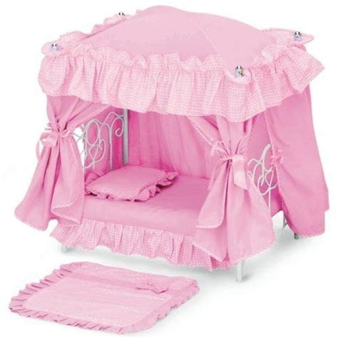 toddler girl bed amazon com toddler girls baby doll canopy bed bedroom