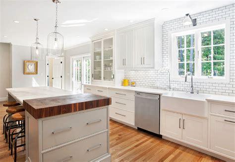 Can I Stain My Kitchen Cabinets Modern Farmhouse Kitchen Design Home Bunch Interior
