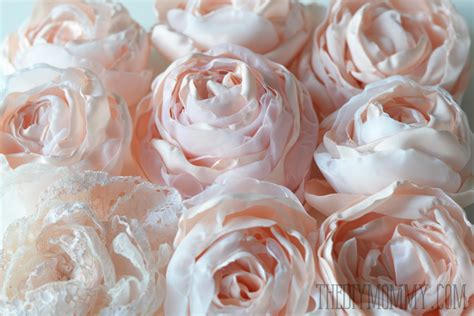 pattern for fabric roses a free tutorial and pattern for how to make fabric peonies