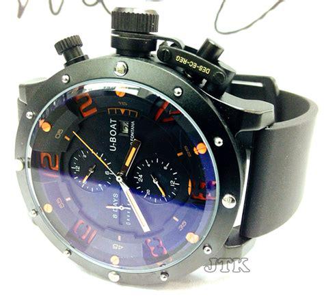 U Boat Fontana Turbillon Rubber Black Ring Silver Automatic jamtangan jual jam tangan original kw harga murah