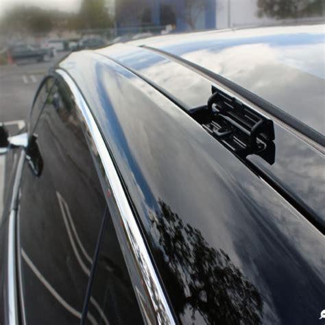 tesla roof rack tesla model 3 roof rack system spotted new car delivered