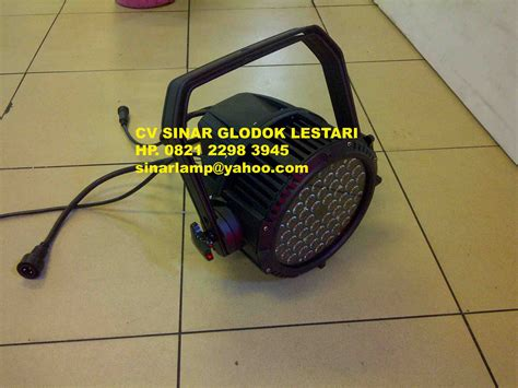 Led Panggung Par 54 X 3 Watt Rgbw lu par led outdoor 54 x 3w rgbw