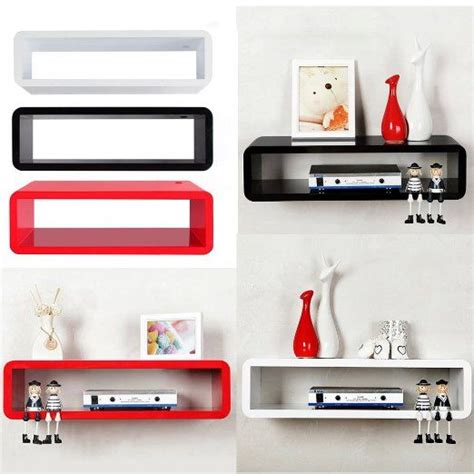 Floating Dvd Rack by Popamazing Floating Wall Mount Shelf Cube Sky Box Dvd Hifi