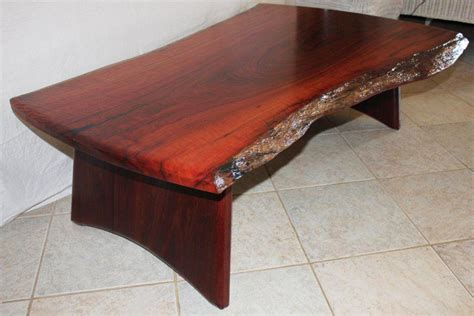 Jarrah Slab Coffee Table 171 Arcadian Concepts Jarrah Coffee Table