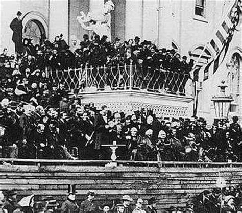 lincoln inaugural address 1865 1865 abraham lincoln second inaugural address the