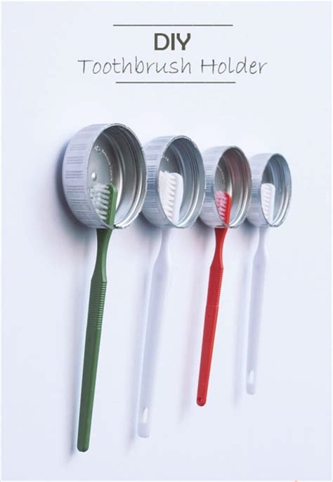 How To Make A Toothbrush Out Of Paper - 24 diy toothbrush holder ideas diy to make