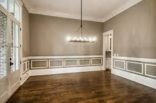 Dining Room Wainscoting Pictures Gray Dining Room With White Wainscoting Transitional
