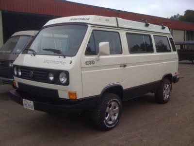 subaru vanagon vanagon syncro with a subaru conversion vanagon