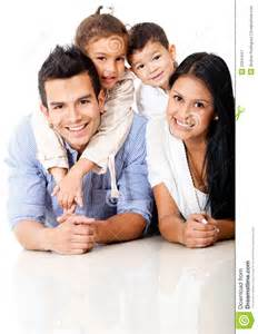 Beautiful Family by Beautiful Family Portrait Royalty Free Stock Photography