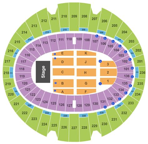 Inglewood Forum Box Office by Iheart Tickets The Forum Seating Chart End Stage