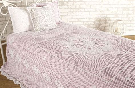 crocheted bedspreads images  pinterest