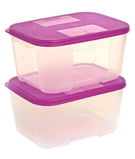 Mini Clear Mate Tupperware tupperware freezer mate small set of 2 containers 700 ml