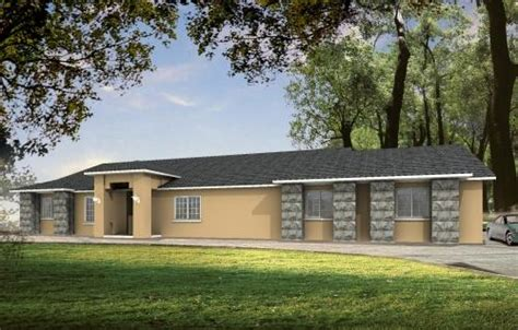 southwest style home plans southwest style house plans 2095 square foot home 1 story 4 bedroom and 2 bath 3 garage