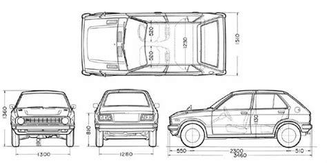 Mobil Ukuran Panjangim Mobil Brown daihatsu charade g10 indonesia ukuran charade g10