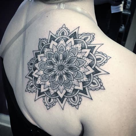 mandala flower tattoo 58 amazing mandala shoulder tattoos