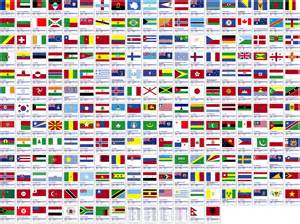 colors of the world world flags