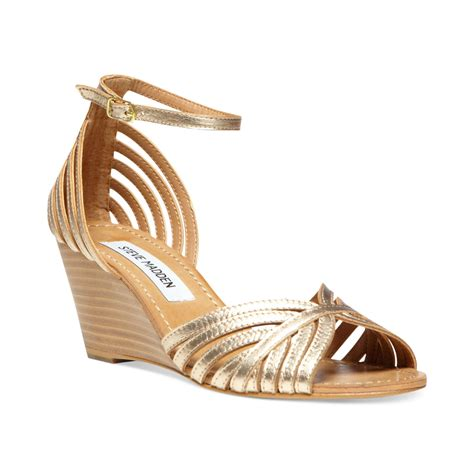 Wedges Gold 1 gold wedge sandals november 2014