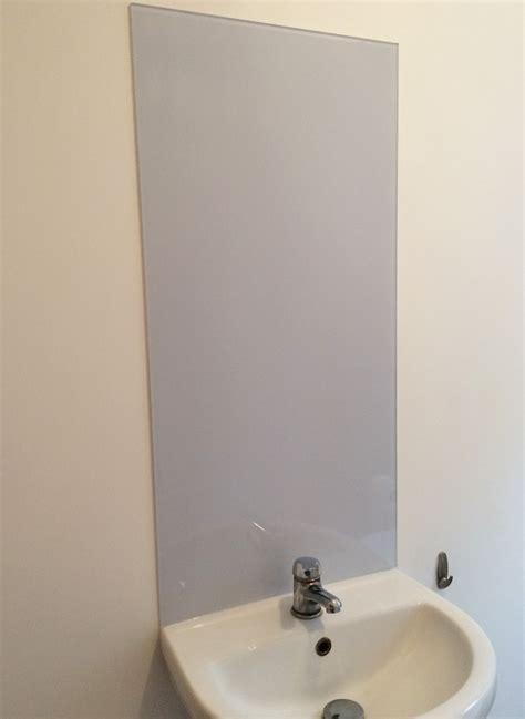 splashback for bathroom sink bathroom sink toughened cloud glass splashback glass