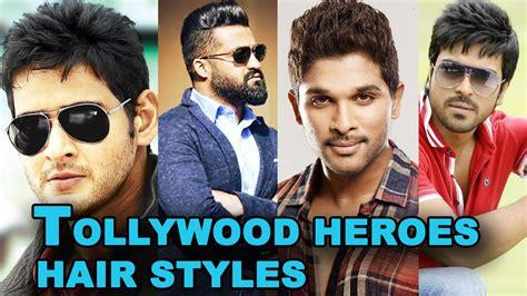hairstyles of heros tollywood heros hairstyles