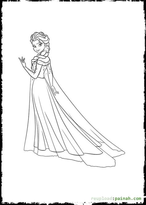 coloring pages princess elsa disney princess colouring pages elsa coloring pages