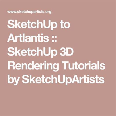 tutorial sketchup artlantis 17 best images about digital garage on pinterest