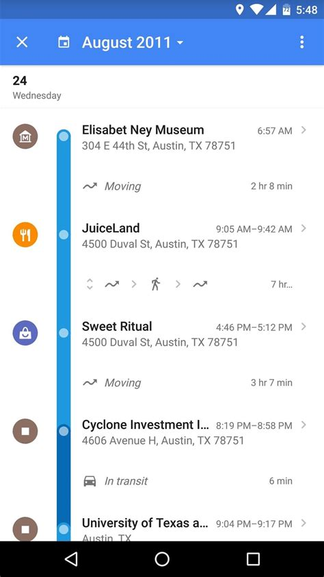 how to view history on android android basics how to view your location history 171 android gadget hacks