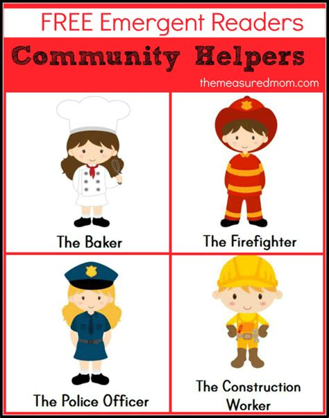 printable images community helpers free our helpers coloring pages