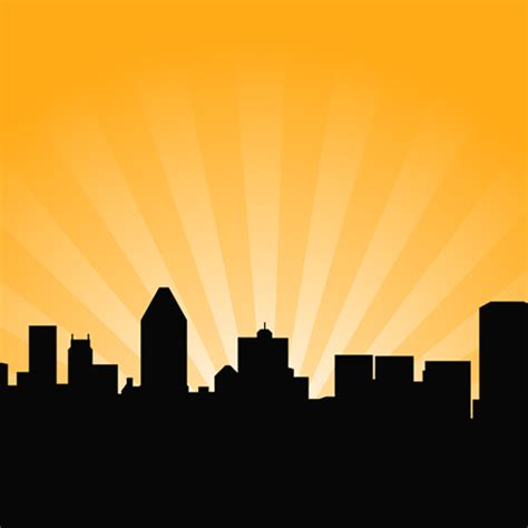 city skyline vector background background labs