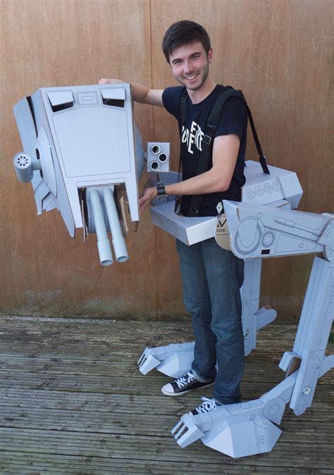 Papercraft Costume - wars at st costume gadgetsin