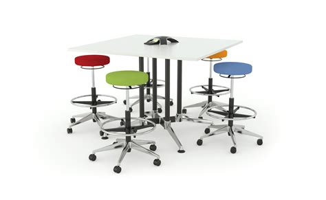 Standing Meeting Table Pulse Standing Meeting Tables Welnis