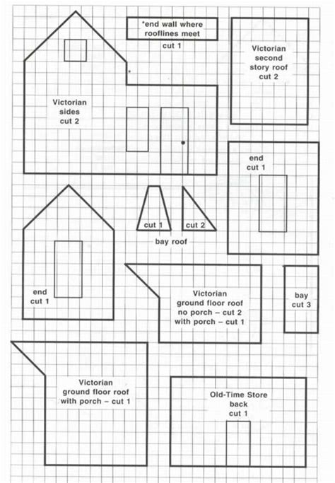 house pattern victorian hosue sketches patterns templates cakepins