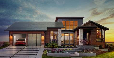 tesla inside roof tesla solar roof and powerwall 2 reveal details gallery