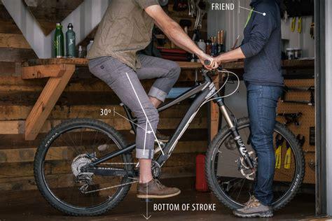 adjusting bike seat how to set up a mountain bike rei expert advice