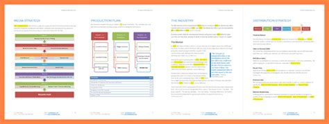 production company business plan template 9 production company business plan template