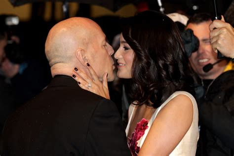 Bruce Willis Dating 23 Year Playmate Model by Cougars And Cradle Snatchers