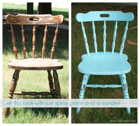 How To Paint An Chair chalky finish chair makeover