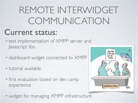 xmpp tutorial javascript role wp3 roadmapping