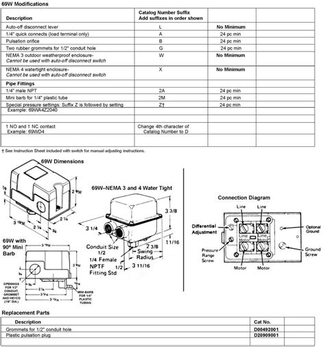 28 hubbell pressure switch wiring diagram