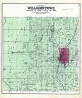 williamstown atlas dodge county 1890 wisconsin