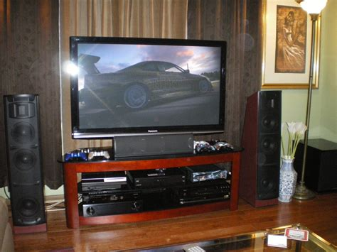 Bando Tv 42inch 33 43inch slaughterx s home theater gallery my set ups 22 photos