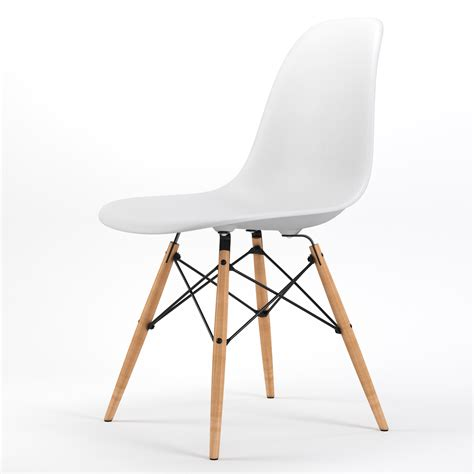 Dining Chairs White Wood Armin Wood Leg Dining Side Chair In White