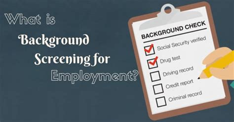 how to check your background background screening for employment how to do it wisestep