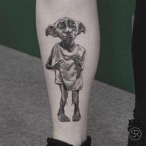 dobby tattoos 10 magical tattoos for harry potter