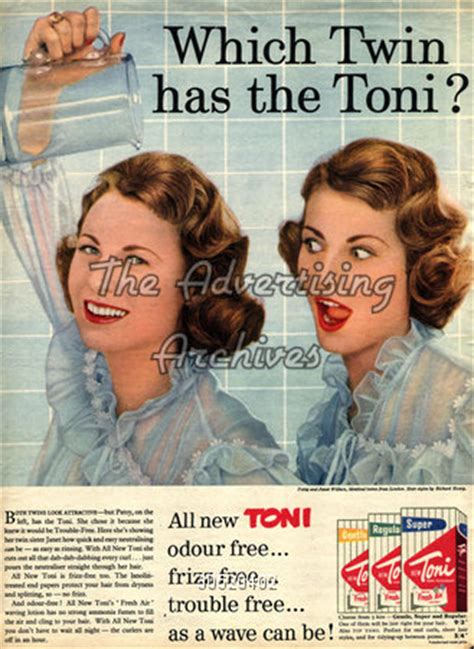 1950s perms the advertising archives magazine advert toni perms