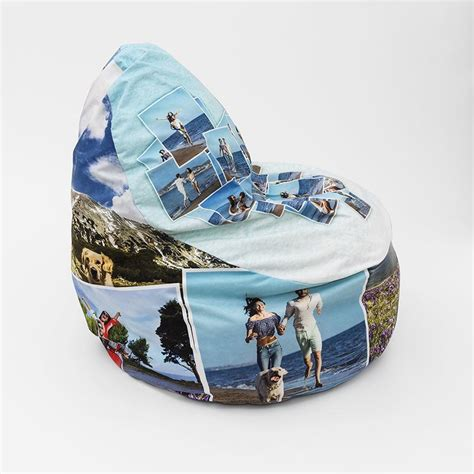 personalised bean bag chair uk personalised bean bags with photos design your own bean