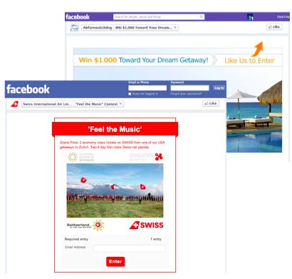 Sweepstakes On Facebook - promosimple facebook sweepstakes contests made simple