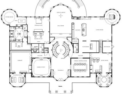 large mansion floor plans image gallery mansion floor plans