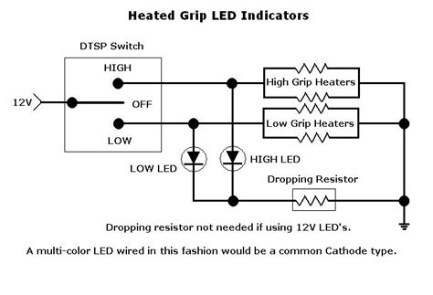 wiring diagram for motorcycle led indicators choice image